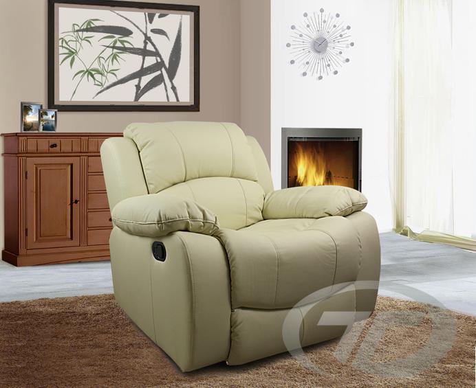 Relaxsessel mit liegefunktion modern  RELAXSESSEL FERNSEHSESSEL TV-SESSEL FERNSEH SESSEL FARBE BEIGE MIT ...